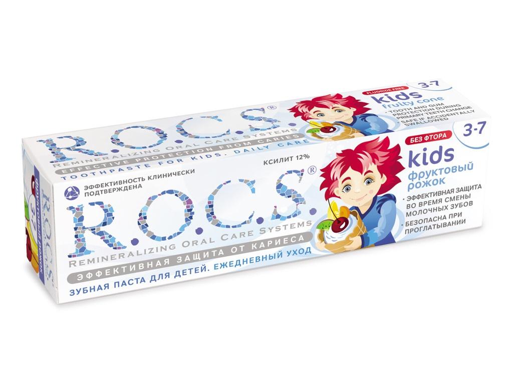 Зубная паста R.O.C.S. Фруктовый рожок 45g 03-01-017