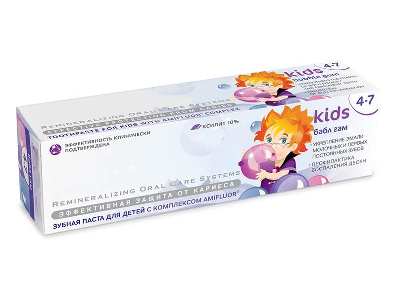 Зубная паста R.O.C.S. Бабл Гам 45g 03-01-021