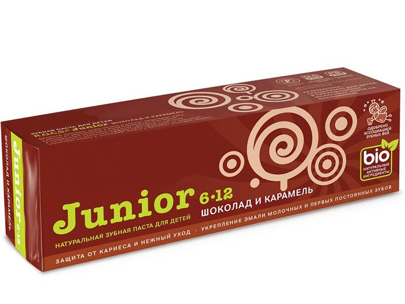 Зубная паста R.O.C.S. Junior Шоколад и карамель 74g 03-01-049