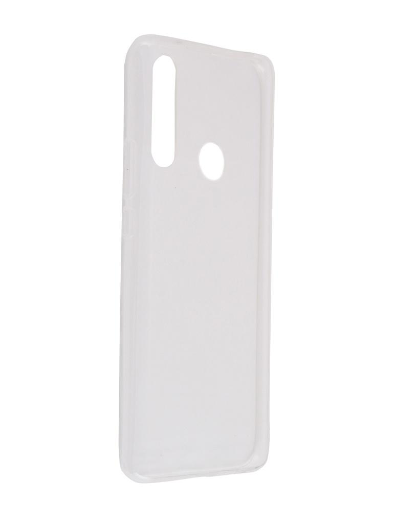 Чехол Brosco для Huawei P Smart Z Silicone Transparent HW-PSZ-TPU-TRANSPARENT