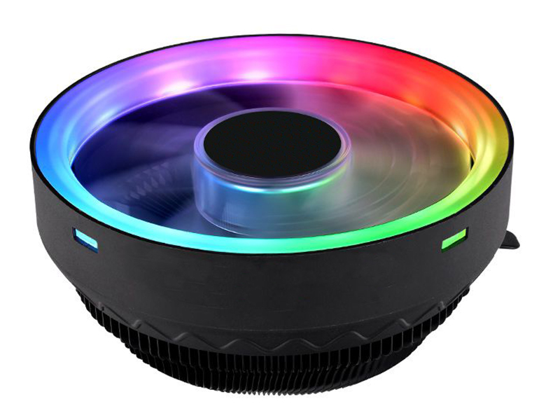 Кулер Thermaltake UX100 ARGB CL-P064-AL12SW-A (Intel LGA 1156/1155/1151/1150/775 AMD AM4/FM2/FM1/AM3+/AM3/AM2+/AM2) система водяного охлаждения corsair h60 s1155 1156 1151 s2066 s2011 am2 am3 am3 am3 cw 9060036 ww ret
