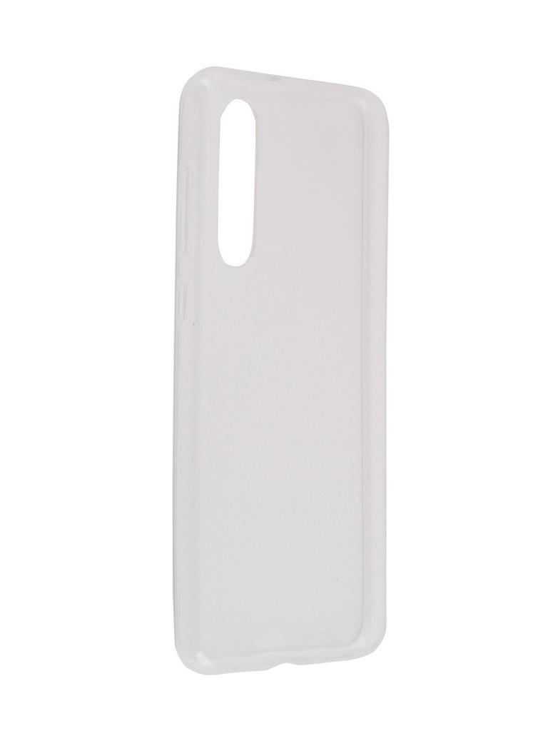 Чехол Brosco для Xiaomi Mi 9SE Silicone Transparent XM-MI9SE-TPU-TRANSPARENT