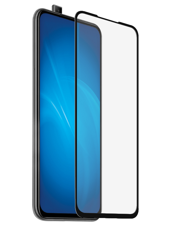 Аксессуар Защитное стекло Brosco для Xiaomi Mi 9T Full Screen Glue Black XM-MI9T-FSP-GLASS-BLACK