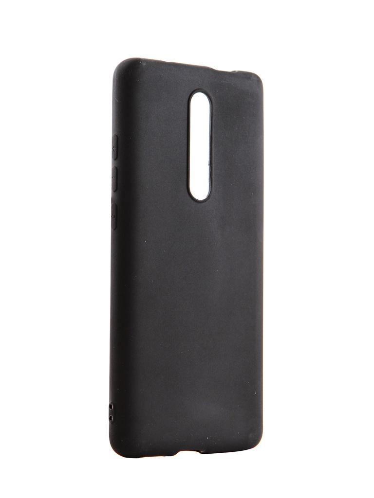 Чехол Brosco для Xiaomi Mi 9T Black Matte XM-MI9T-COLOURFUL-BLACK