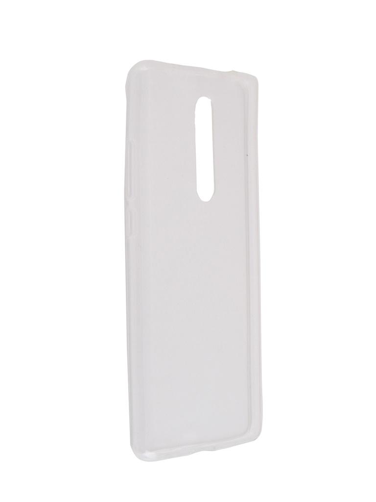 Чехол Brosco для Xiaomi Mi 9T Silicone Transparent XM-MI9T-TPU-TRANSPARENT