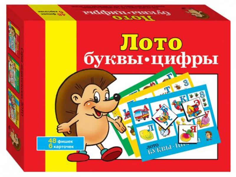 все цены на Настольная игра Step Puzzle Лото Буквы-цифры 80301 онлайн