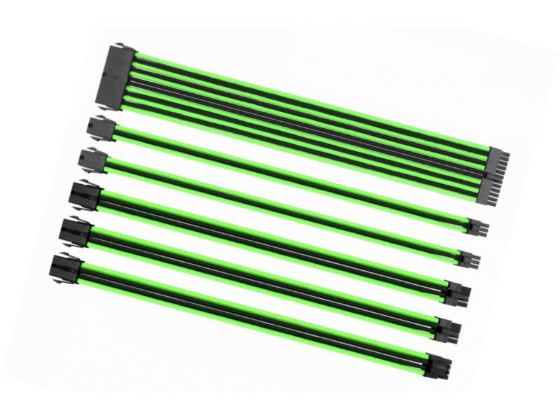 Аксессуар Набор кабелей Thermaltake Tt Mod Black-Green AC-034-CN1NAN-A