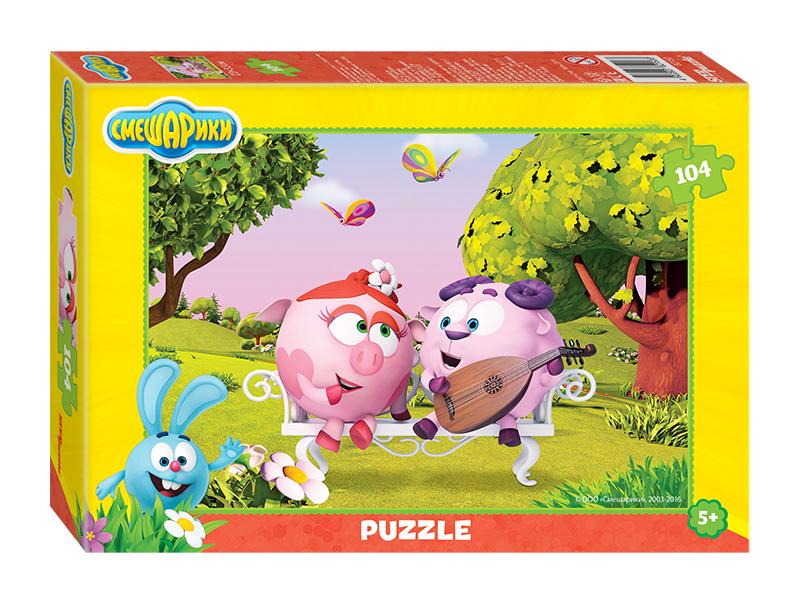 Пазл Step Puzzle Смешарики 82153 цена в Москве и Питере