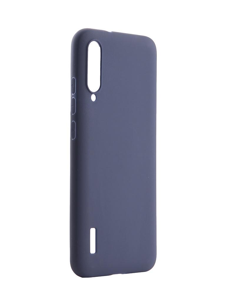 Аксессуар Чехол Pero для Xiaomi Mi A3 Soft Touch Blue CC01-MiA3BL