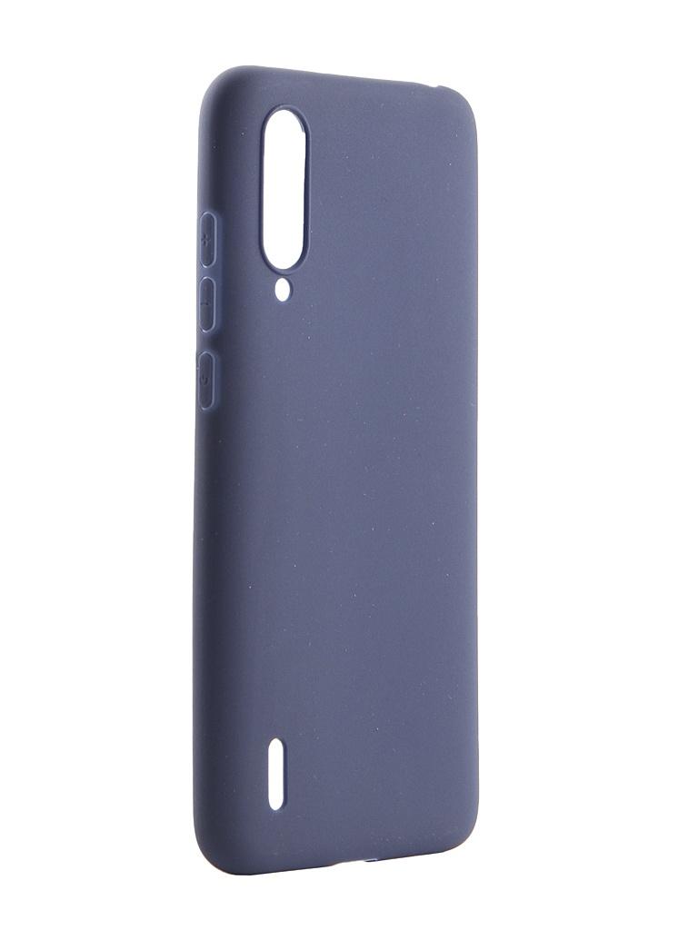 Чехол Pero для Xiaomi Mi A3 Lite Soft Touch Blue CC01-MiA3LBL