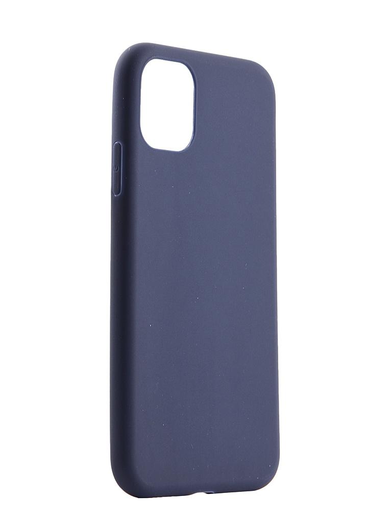 Чехол Pero для APPLE iPhone 11 Soft Touch Blue CC01-I6119BL