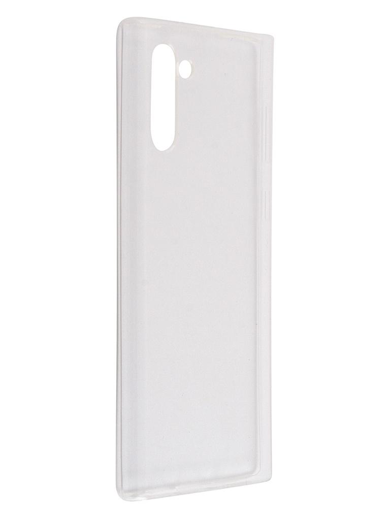 Чехол Pero для Samsung Galaxy Note 10 Silicone Transparent CC01-N10TR