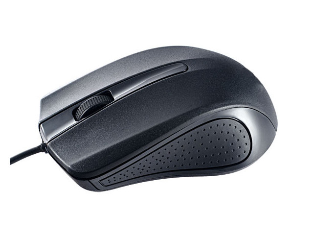 Мышь Perfeo Rainbow USB 1.8m Black PF_3439