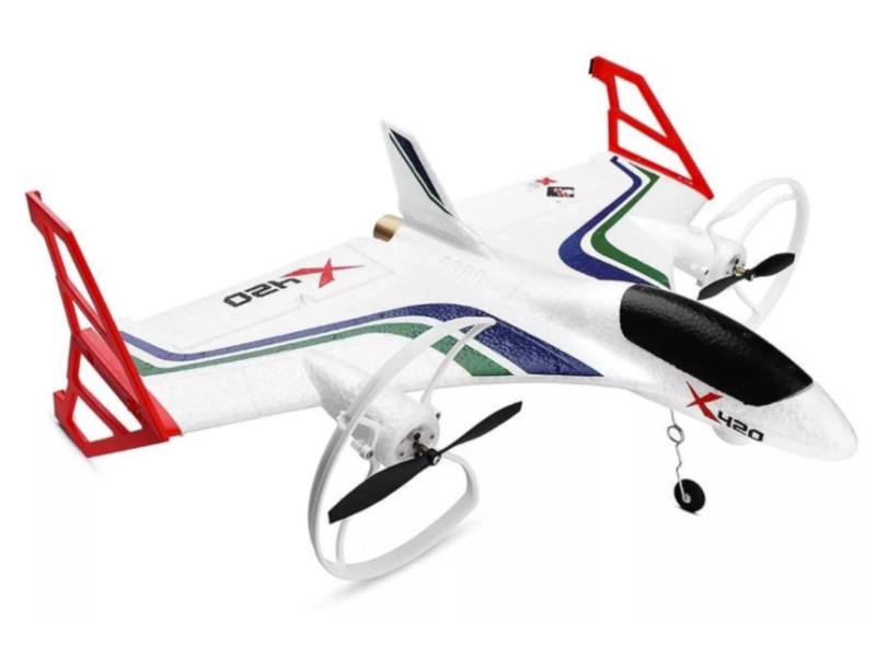 Радиоуправляемая игрушка WLToys X420 White
