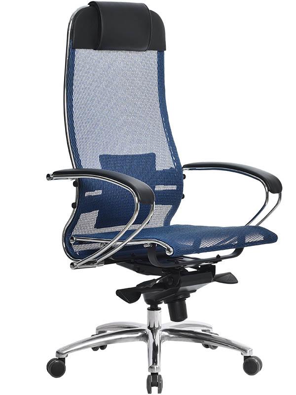Компьютерное кресло Метта Samurai S-1.02 Blue