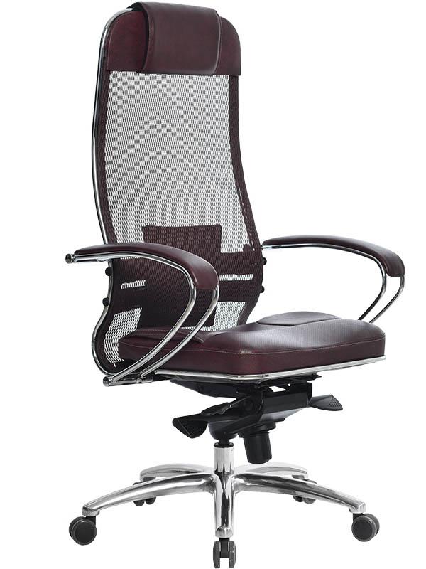 Компьютерное кресло Метта Samurai SL-1.02 Dark Bordo