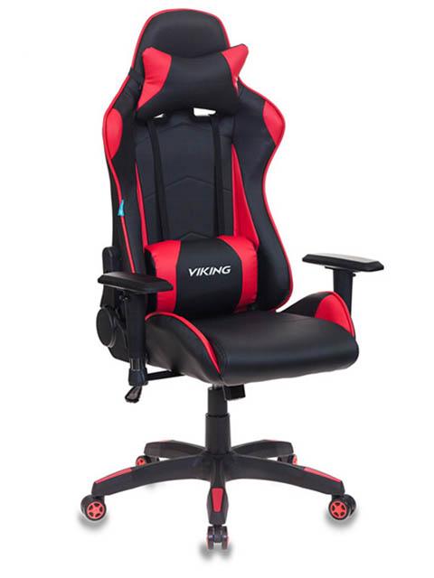Компьютерное кресло Бюрократ CH-778 искусственная кожа Black-Red 1075699