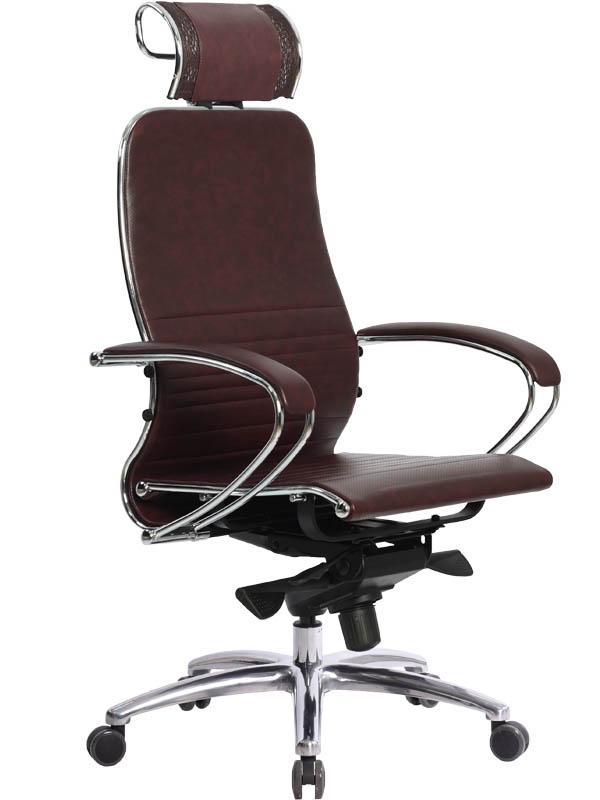 Компьютерное кресло Метта Samurai K-2.02 / K-2.03 Dark Burgundy