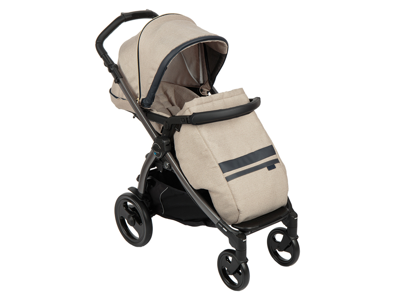 Коляска Peg-Perego Book Plus Pop Up Luxe Ecru GL000917782