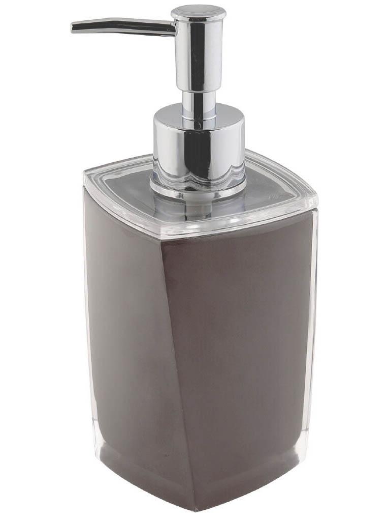 Дозатор Axentia Graz Eckig 275ml Grey для жидкого мыла 131076