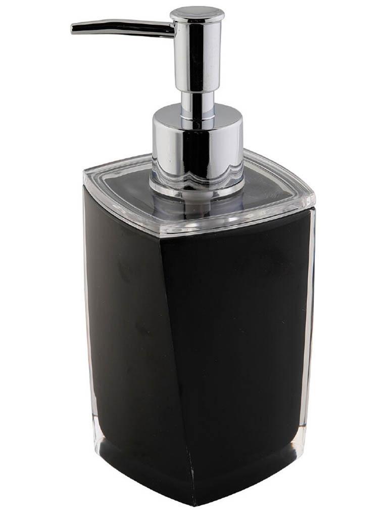 Дозатор Axentia Graz Eckig 275ml Black для жидкого мыла 131077