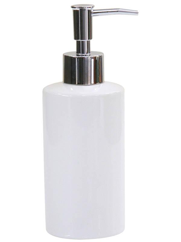 Дозатор Axentia Bianco Keramik 300ml для жидкого мыла 282454
