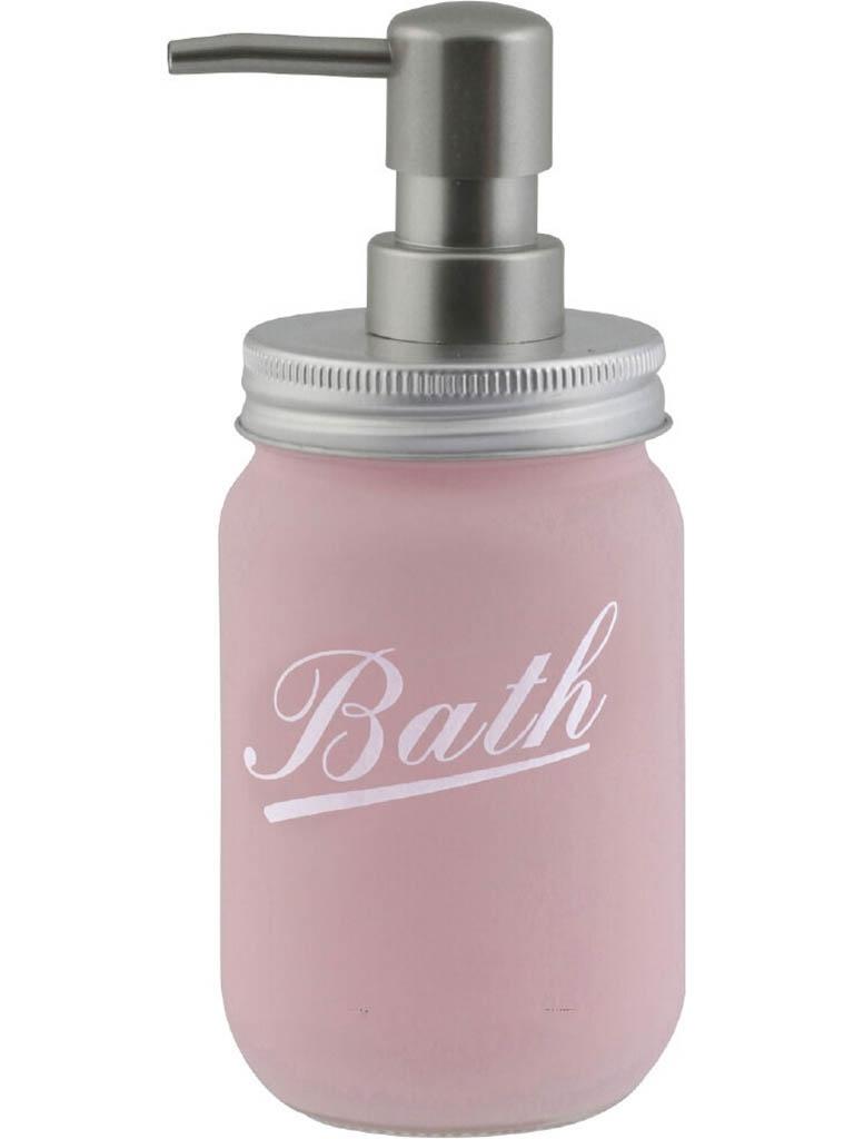 Дозатор Axentia Retro 350ml Pink для жидкого мыла 128395 axentia escala