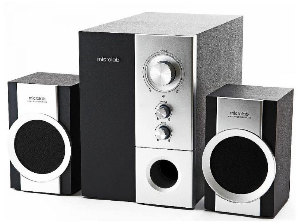 цена на Колонка Microlab M-590 Black-Silver