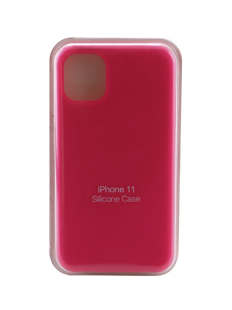 Чехол Innovation для APPLE iPhone 11 Silicone Case Hot Pink 16461