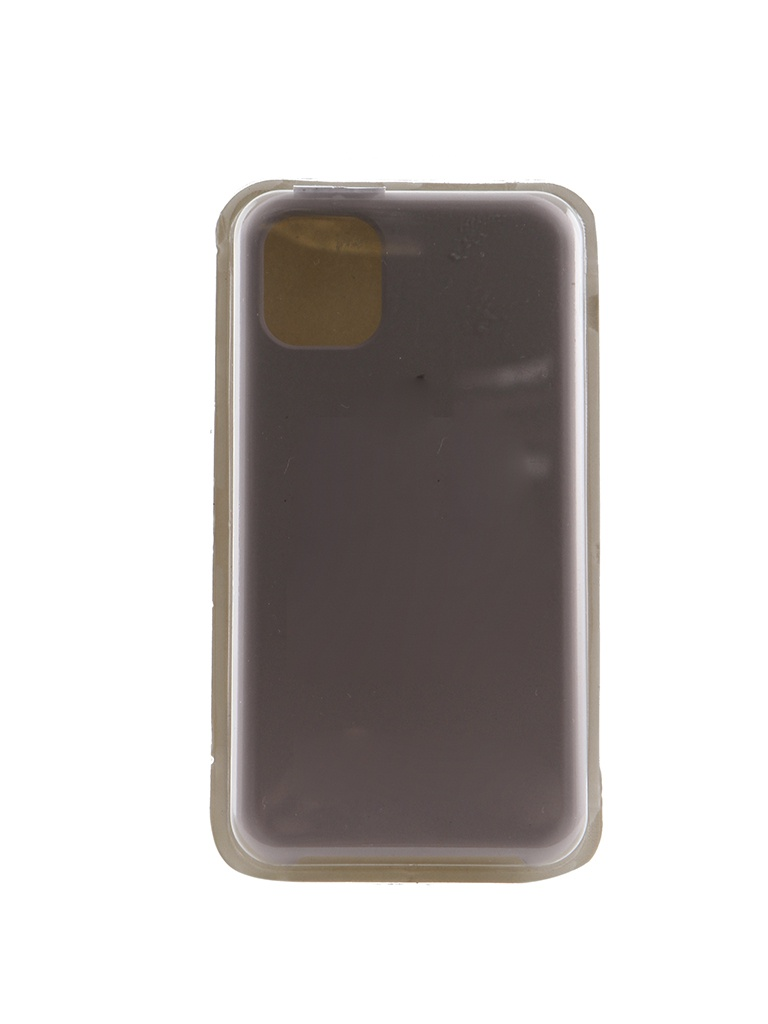 Аксессуар Чехол Innovation для APPLE iPhone 11 Silicone Case Grey 16465