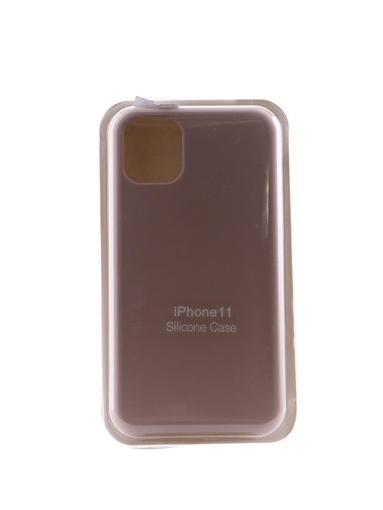 Чехол Innovation для APPLE iPhone 11 Silicone Case Milk 16451