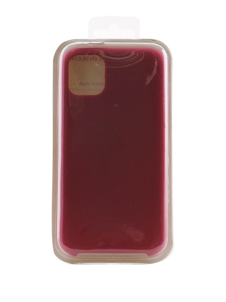 Чехол Innovation для APPLE iPhone 11 Silicone Case Crimson 16454