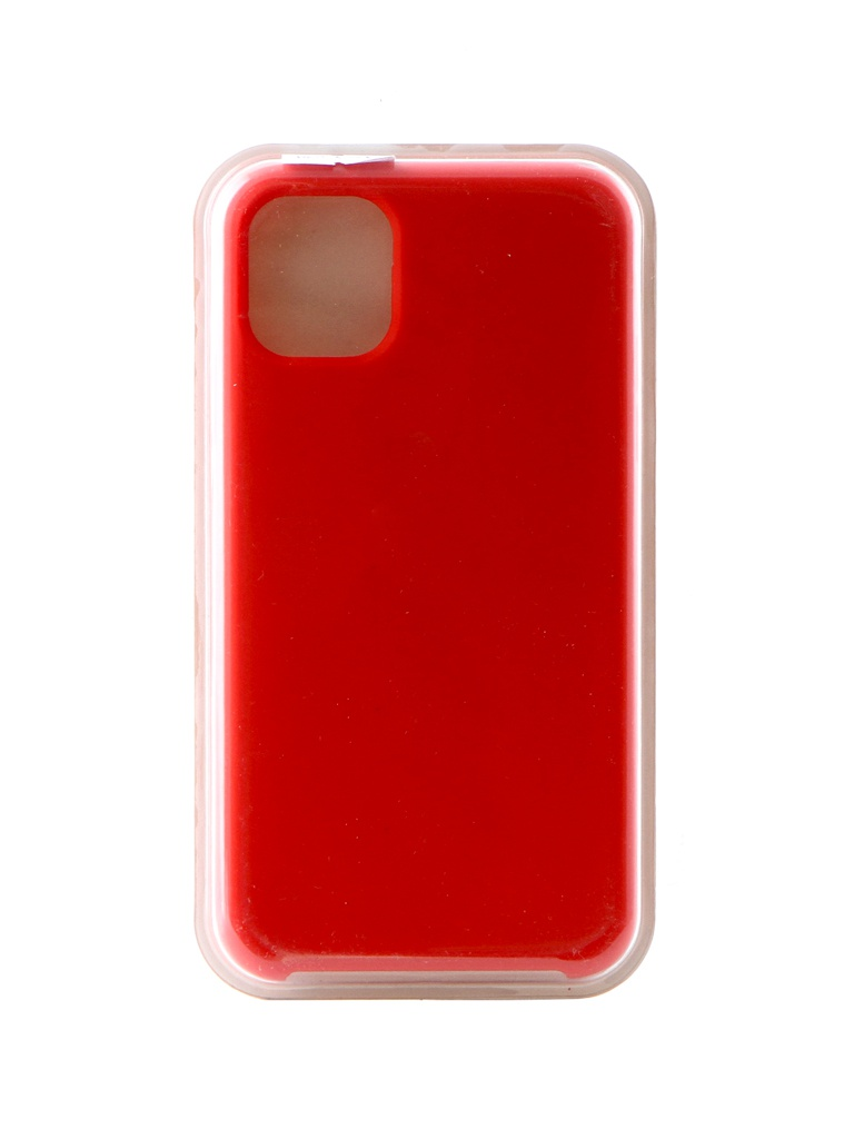 Аксессуар Чехол Innovation для APPLE iPhone 11 Silicone Case Red 16456