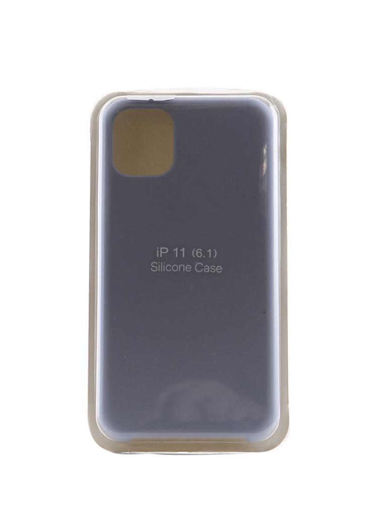 цены Аксессуар Чехол Innovation для APPLE iPhone 11 Silicone Case Light Blue 16455