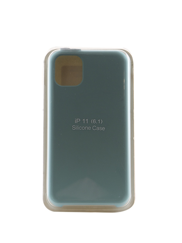 Аксессуар Чехол Innovation для APPLE iPhone 11 Silicone Case Turquoise 16463