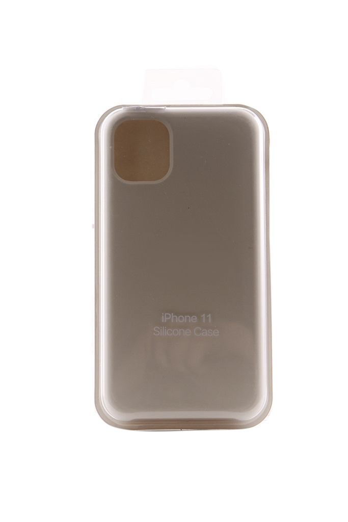 Аксессуар Чехол Innovation для APPLE iPhone 11 Silicone Case White 16452 цена