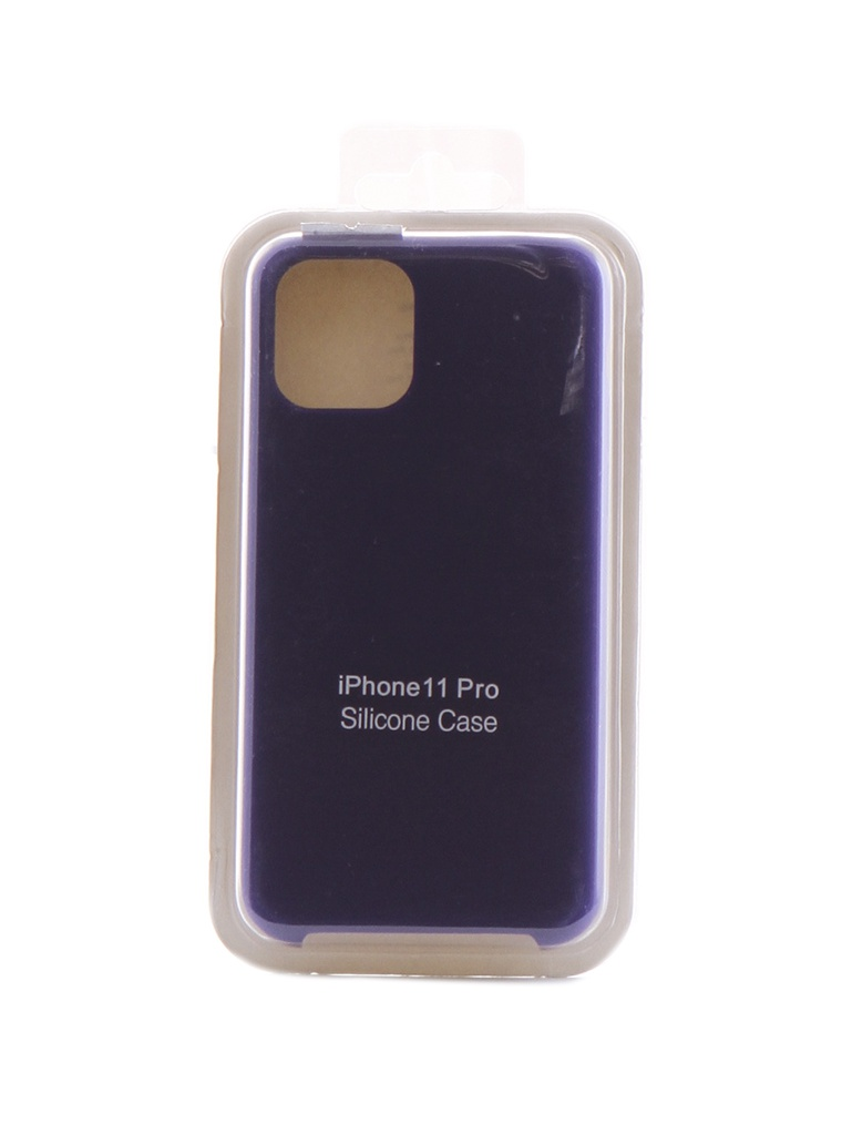 Чехол Innovation для APPLE iPhone 11 Pro Silicone Case Violet 16437