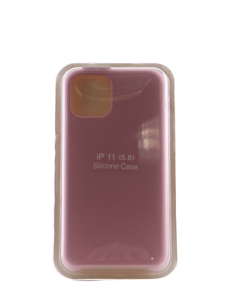 Чехол Innovation для APPLE iPhone 11 Pro Silicone Case Pink 16466