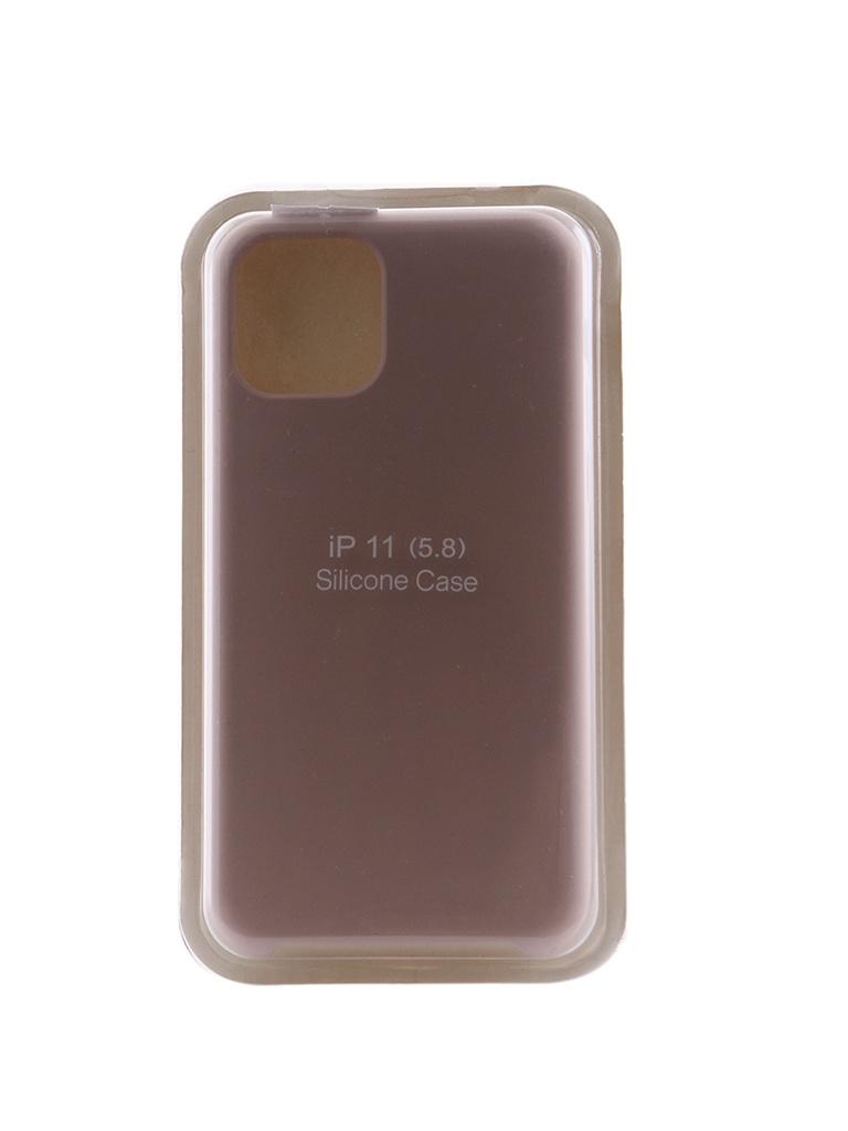 Чехол Innovation для APPLE iPhone 11 Pro Silicone Case Milk 16429