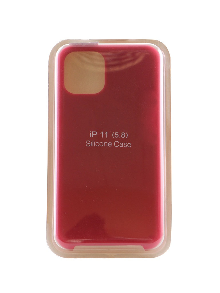 Чехол Innovation для APPLE iPhone 11 Pro Silicone Case Crimson 16434