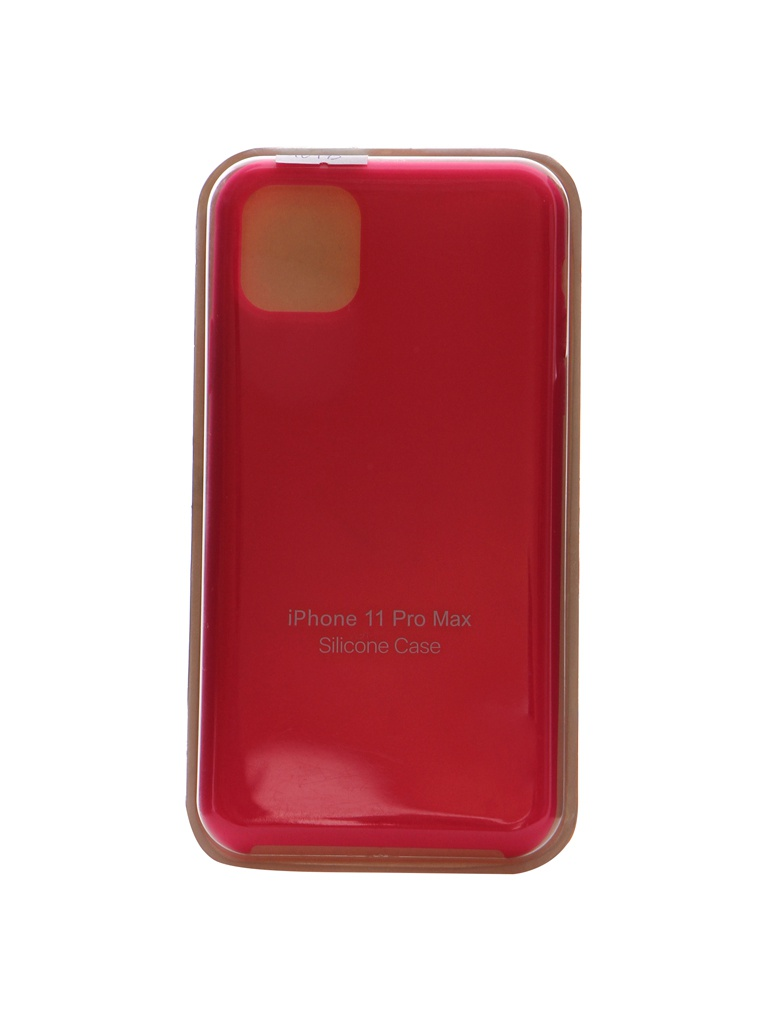 Чехол Innovation для APPLE iPhone 11 Pro Max Silicone Case Hot Pink 16473