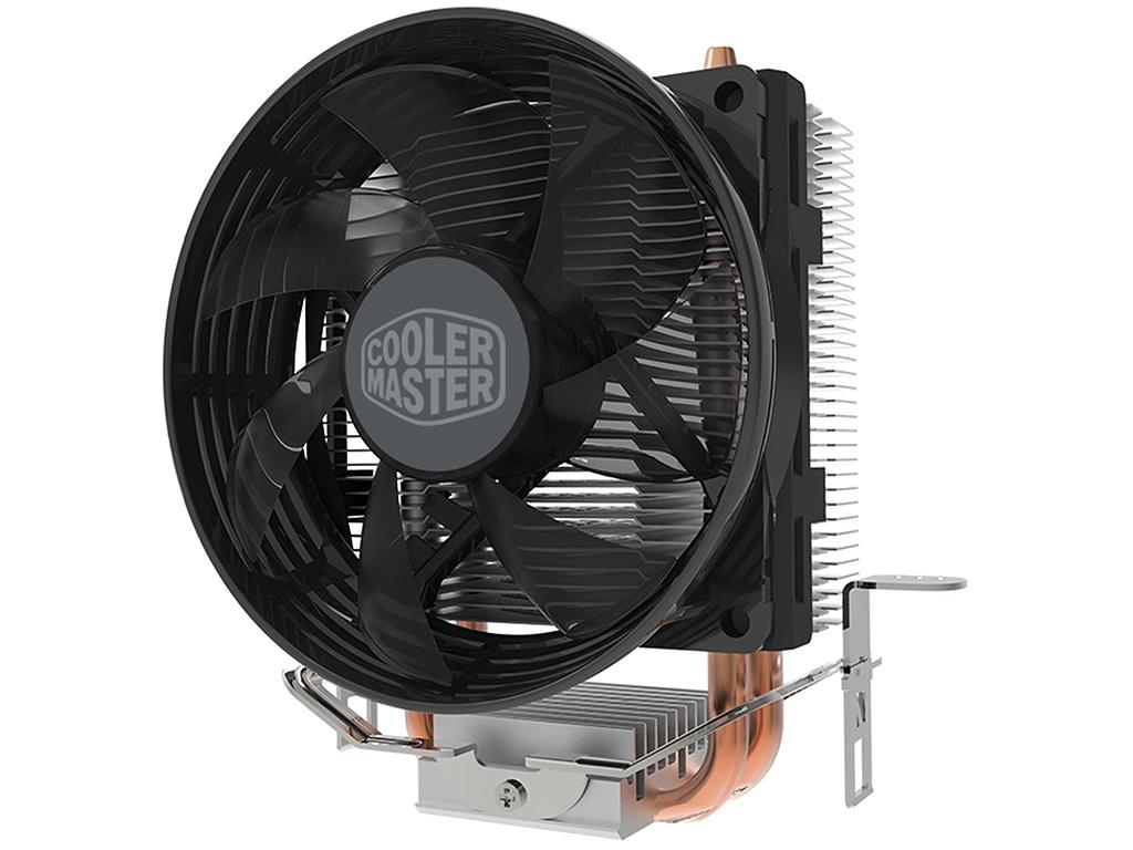 Кулер Cooler Master Hyper T20 RR-T20-20FK-R1 (LGA1156,LGA1155,LGA1151,LGA1150,LGA775,AM4,AM3+,AM3,AM2,FM2+,FM2,FM1) deepcool pu cooler 4 heat pipe double fan use for lga2011 lga1366 lga1156 lga1155 lga1150 lga775