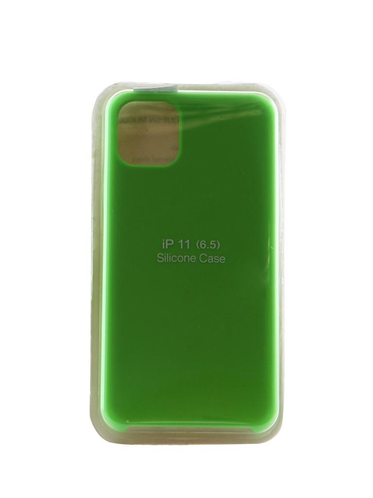 Аксессуар Чехол Innovation для APPLE iPhone 11 Pro Max Silicone Case Light Green 16441 аксессуар чехол innovation для apple iphone 11 pro max silicone case grey 16477