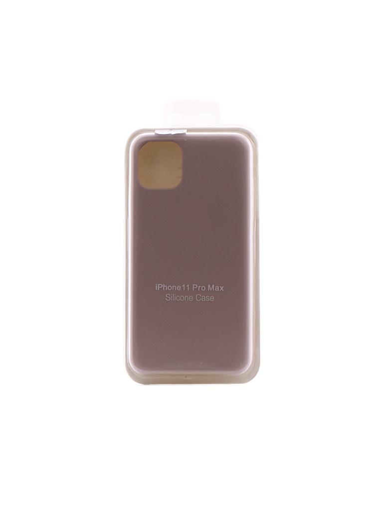 Чехол Innovation для APPLE iPhone 11 Pro Max Silicone Case Milk 16449