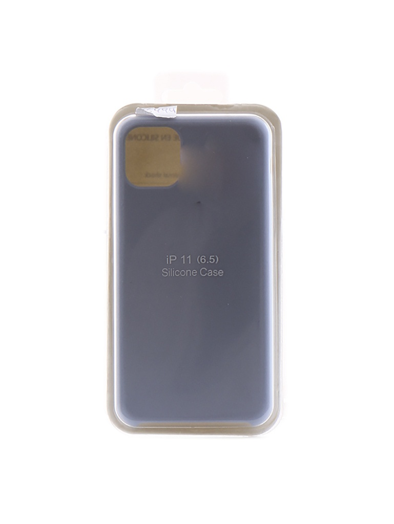Чехол Innovation для APPLE iPhone 11 Pro Max Silicone Case Light Blue 16444