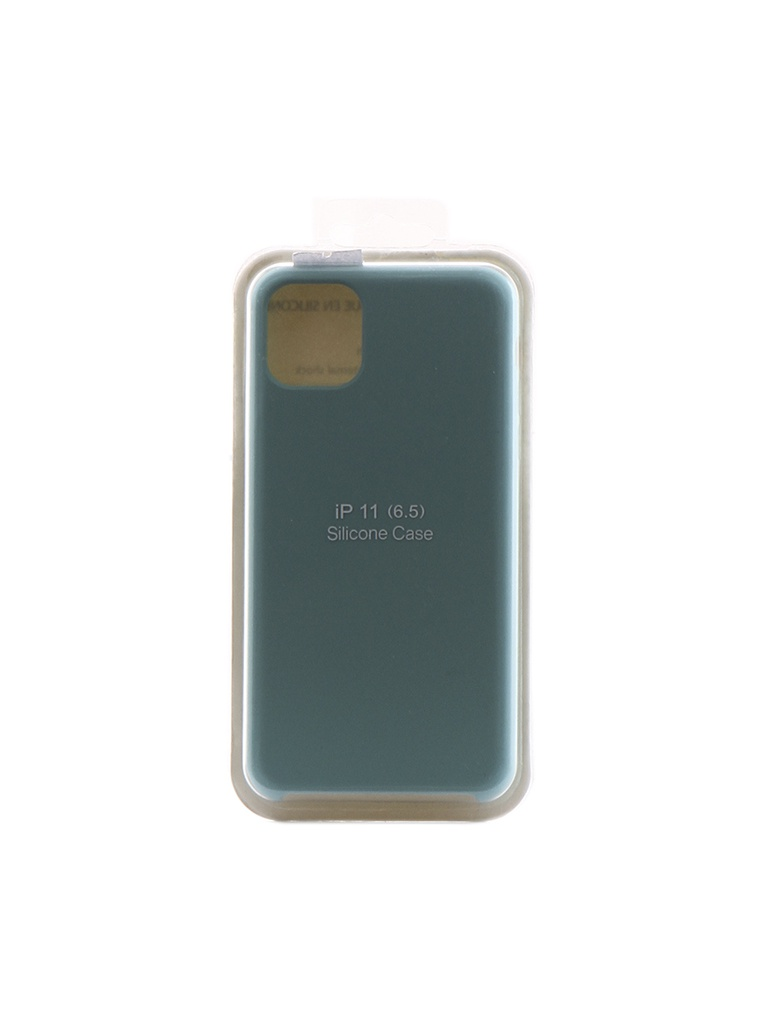 Чехол Innovation для APPLE iPhone 11 Pro Max Silicone Case Turquoise 16475