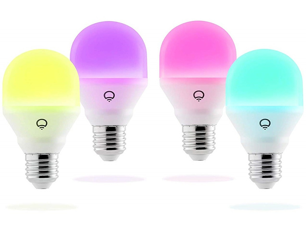 Лампочка LIFX Mini Colour E27 9W 220V 2500-9000K 800Lm A19 4шт HB4L3A19MC08E27