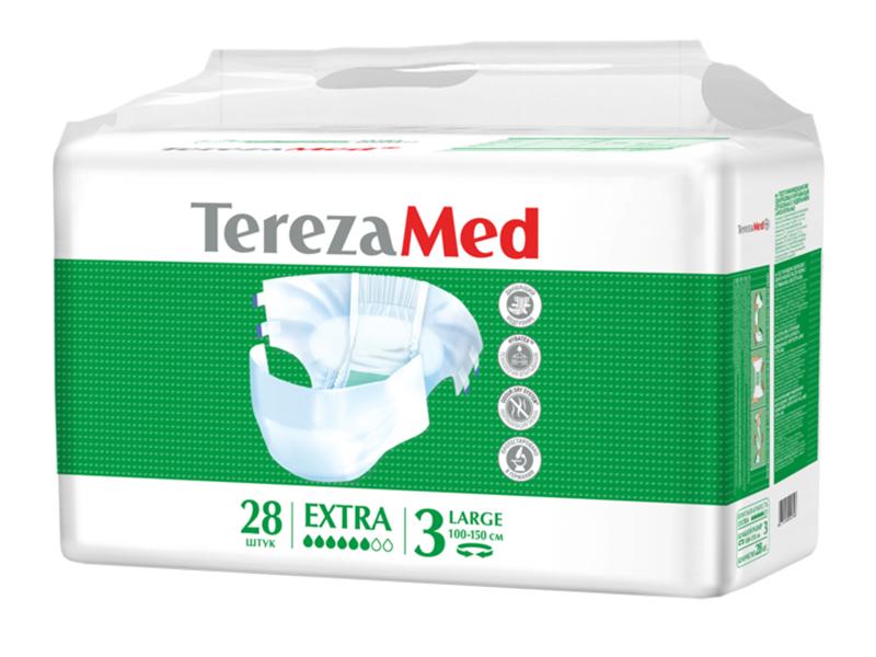 Подгузники TerezaMed Extra Large №3 28шт