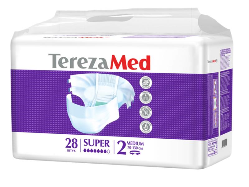 Подгузники TerezaMed Medium Super 28шт