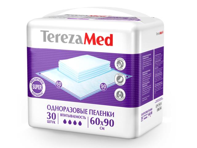Пеленки TerezaMed Super 60x90cm 30шт